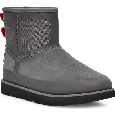 UGG Classic Mini Urban Tech Waterproof Boot, Grey