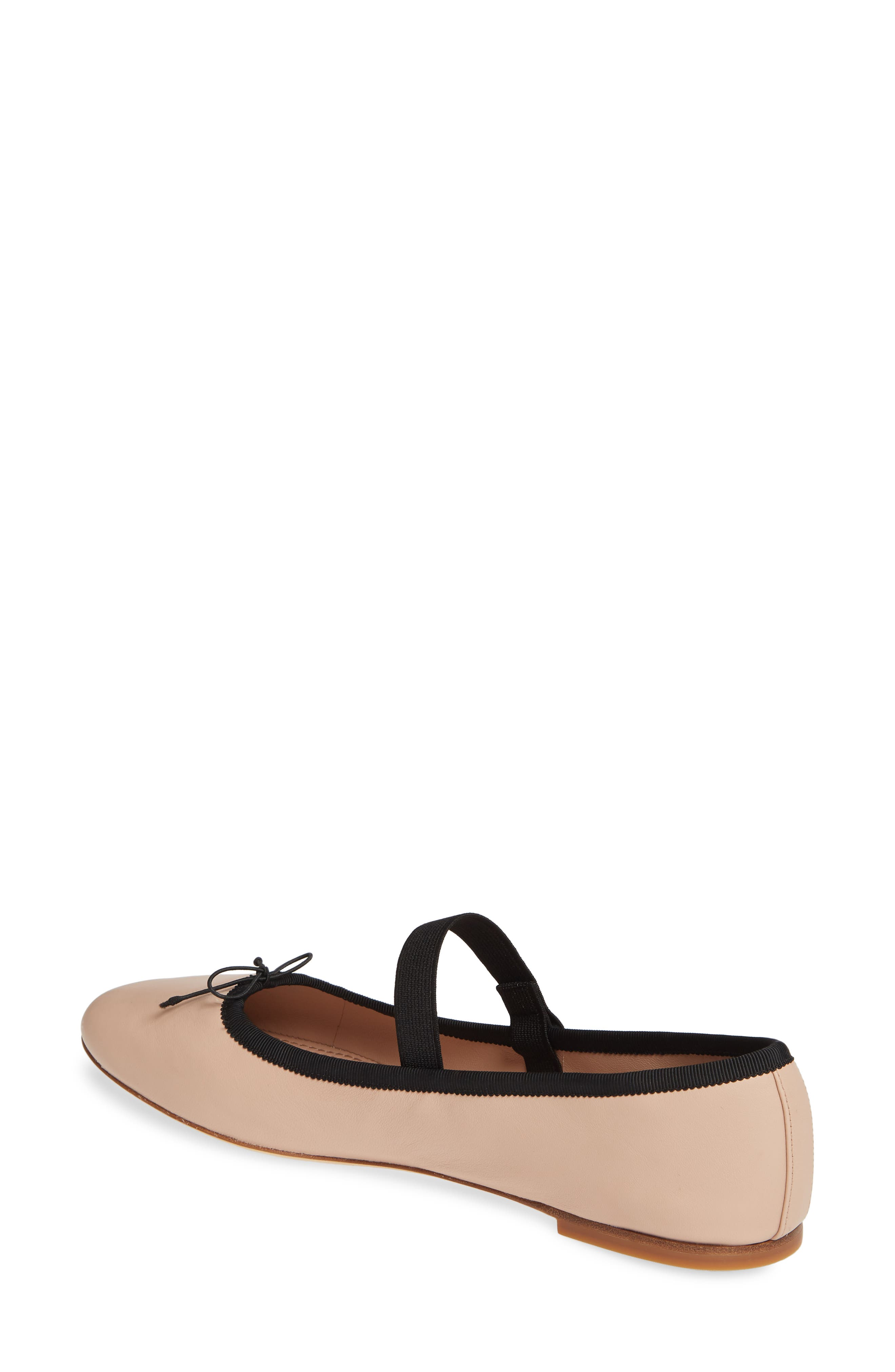 ,                             Mary Jane Ballet Flat,                             Alternate thumbnail 2, color,                             GOAN SAND/ PERFECT BLACK