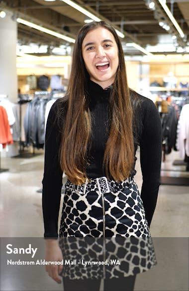 Long Sleeve Ruffle Hem Wrap Dress, sales video thumbnail