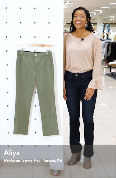 Ab-solution Luxe Touch Cotton Blend Ankle Trousers, sales video thumbnail