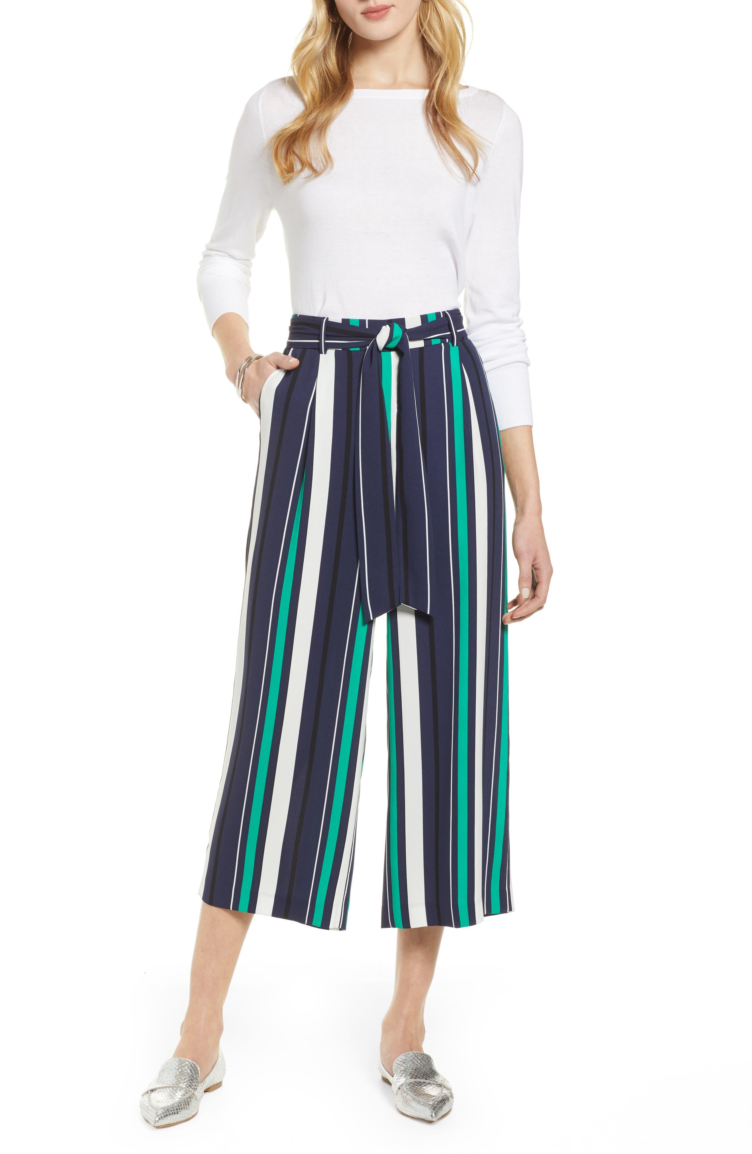,                             Wide Leg Crop Pants,                             Alternate thumbnail 64, color,                             413