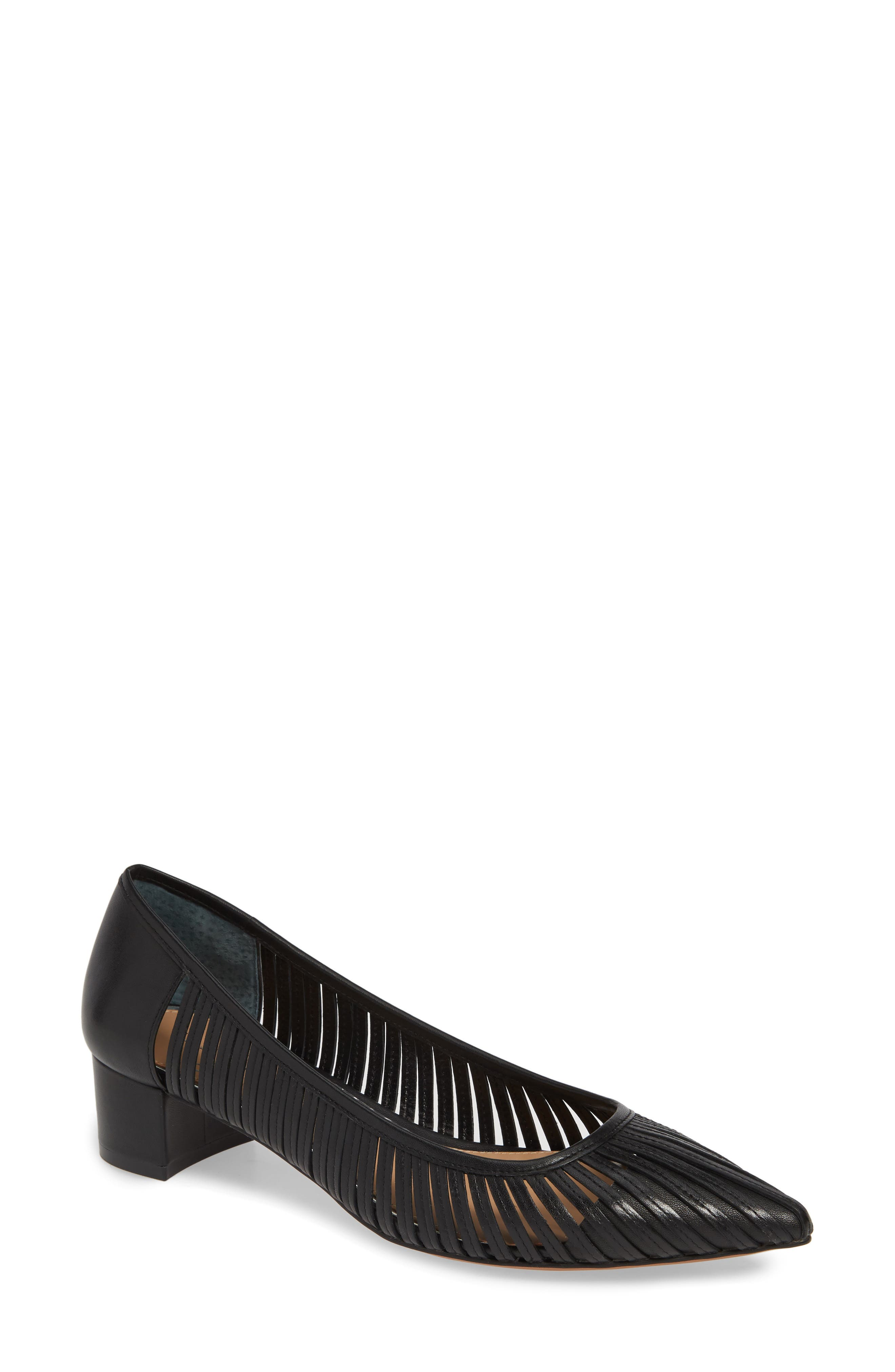 Linea Paolo Bliss Pointy Toe Pump- Black