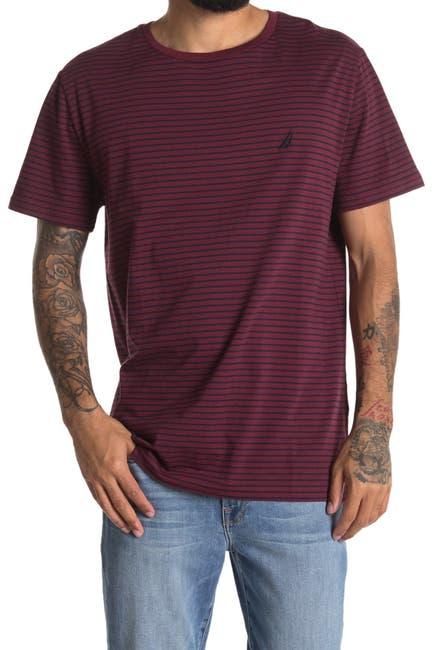 Image of Nautica Striped Short Sleeve Crew Neck T-Shirt