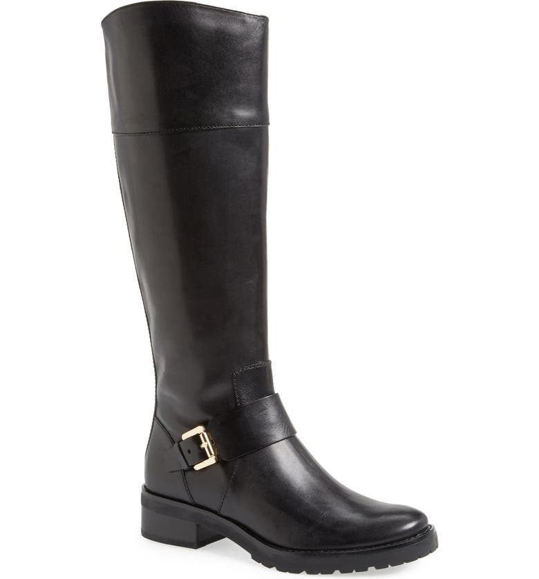 MICHAEL MICHAEL KORS 'Gansevoort' Riding Boot, Main, color, 001