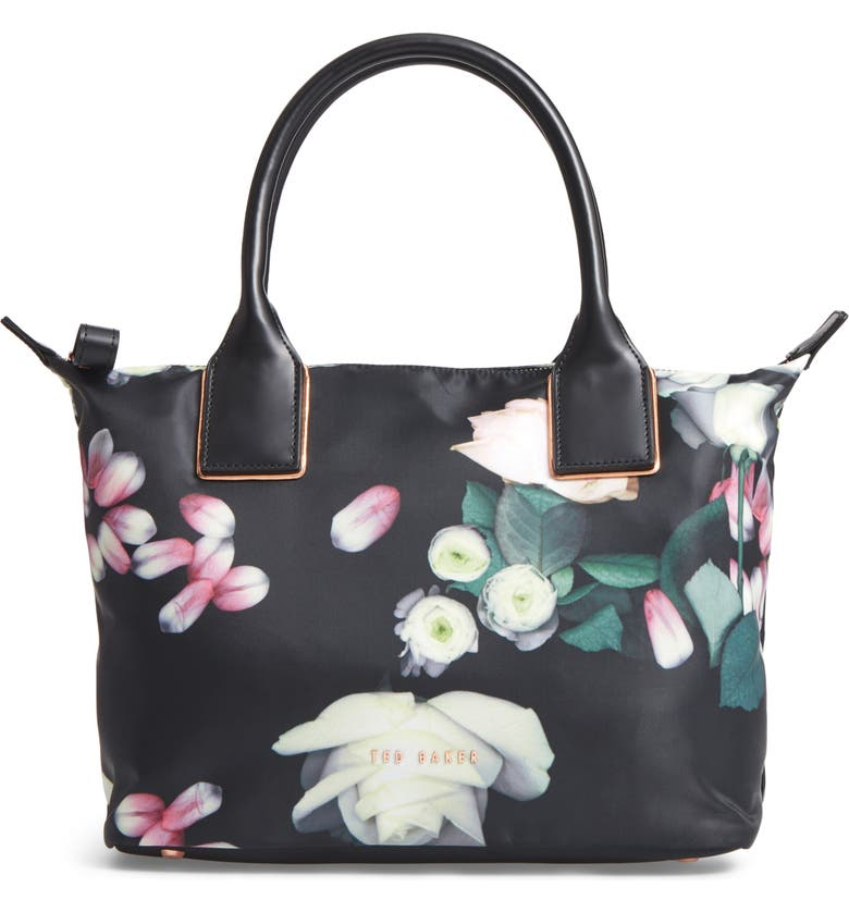 23456b1216 Ted Baker London Lunah Kensington Small Floral Tote | Nordstrom