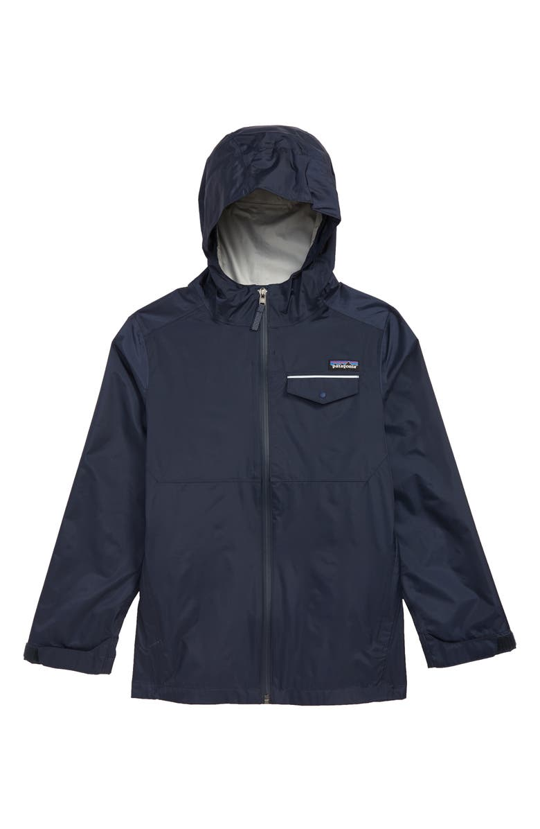 PATAGONIA Torrentshell Hooded Rain Jacket, Main, color, NEO NAVY