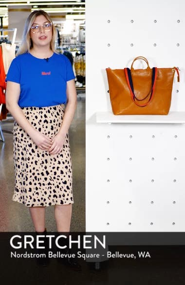 Le Zip Leather Tote, sales video thumbnail