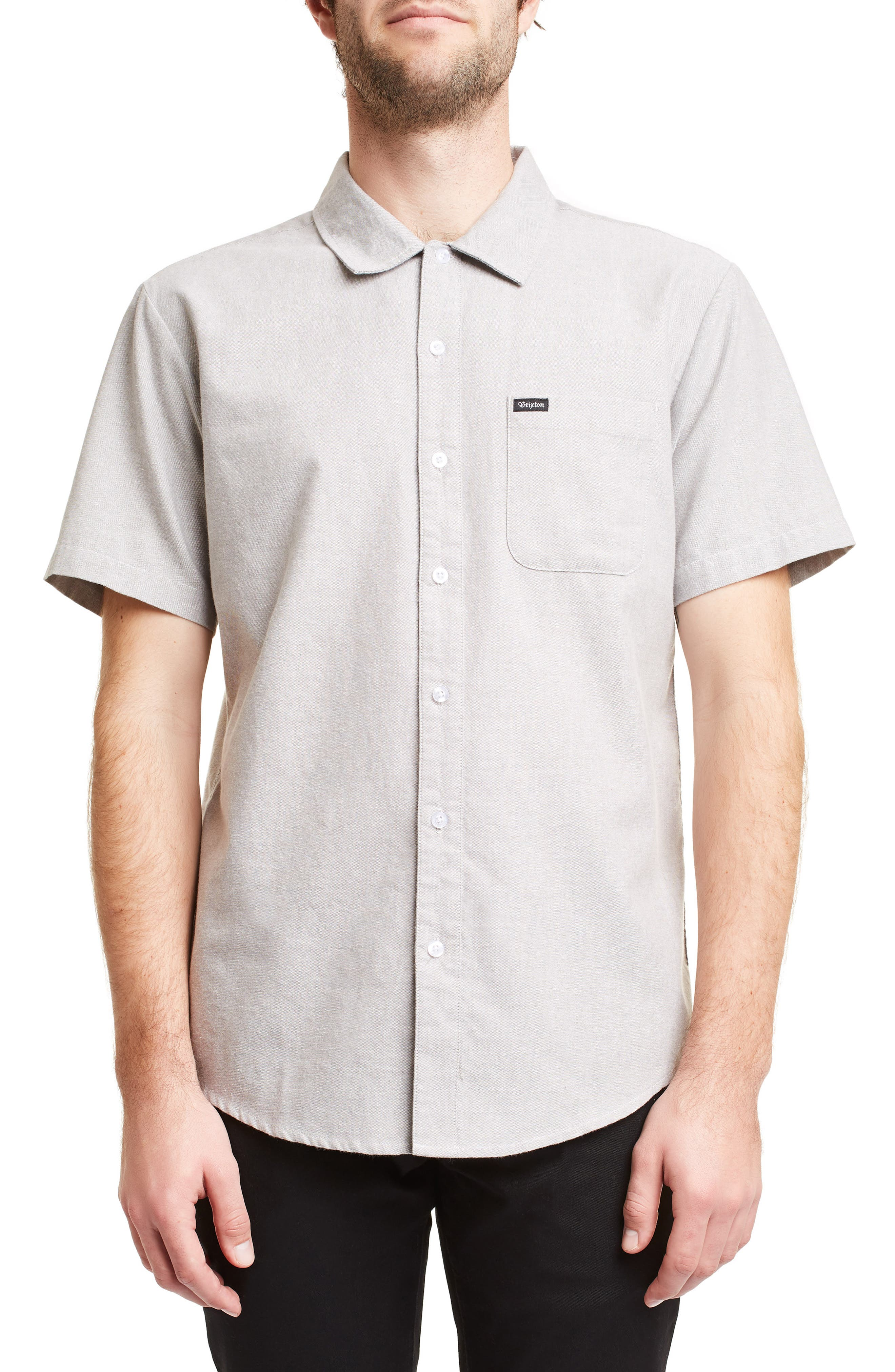 Charter Oxford Woven Shirt, Main, color, 050
