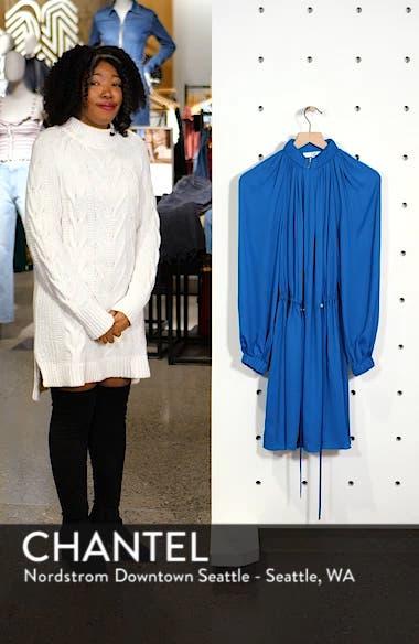 Side Drawstring Georgette Dress, sales video thumbnail