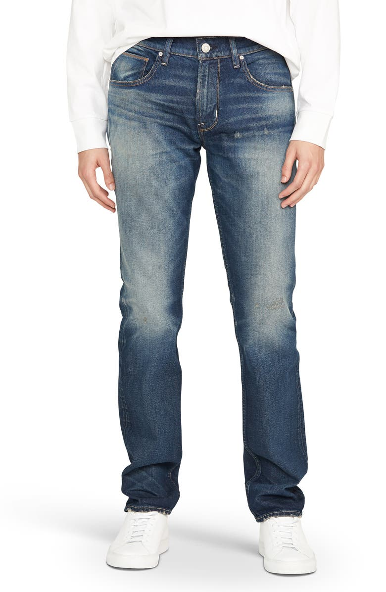 HUDSON JEANS Blake Slim Straight Leg Jeans, Main, color, TURN OVER