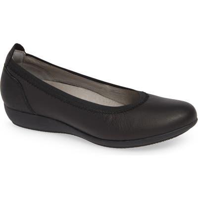 Dansko Kristen Ballet Flat-6- Black