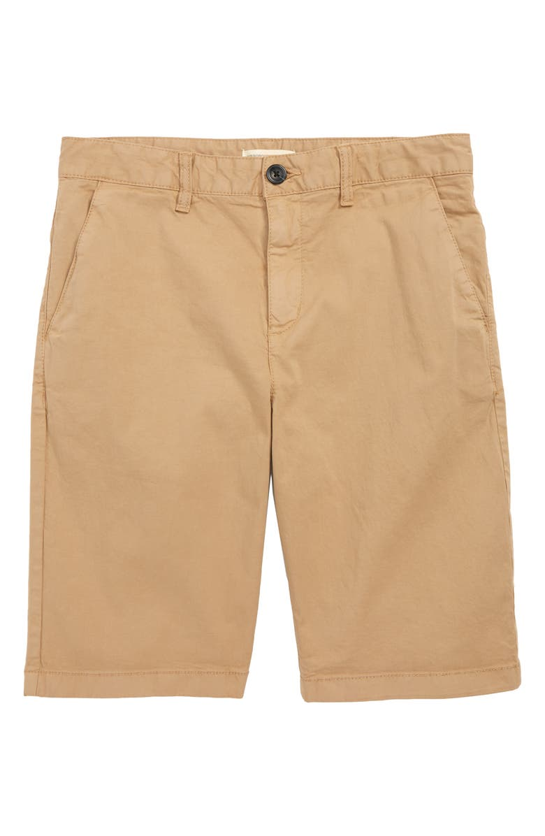 TUCKER + TATE Meet Me on the Pier Shorts, Main, color, TAN TANNIN