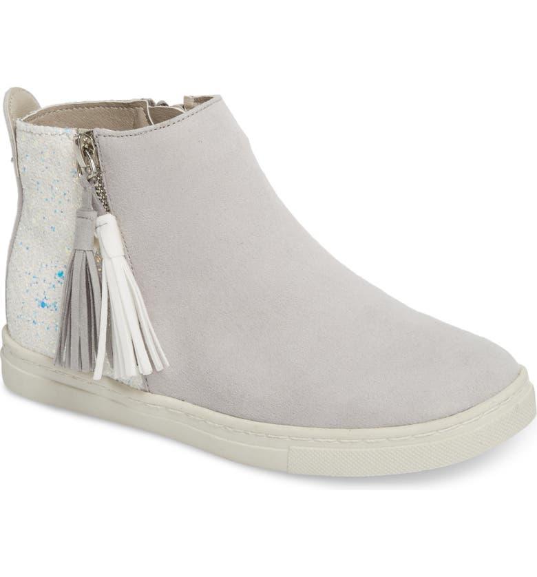 DOLCE VITA Zalix Glitter Sneaker, Main, color, 029