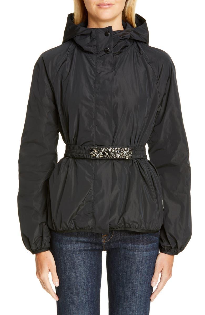 MONCLER Asuncion Hooded Jacket, Main, color, 001