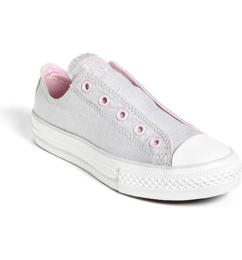 CONVERSE Chuck Taylor<sup>®</sup> All Star<sup>®</sup> 'Frayless' Metallic Slip-On, Main, color, 040