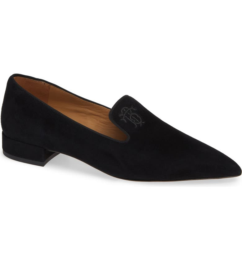 TORY BURCH Pascal Pointy Toe Loafer, Main, color, 004