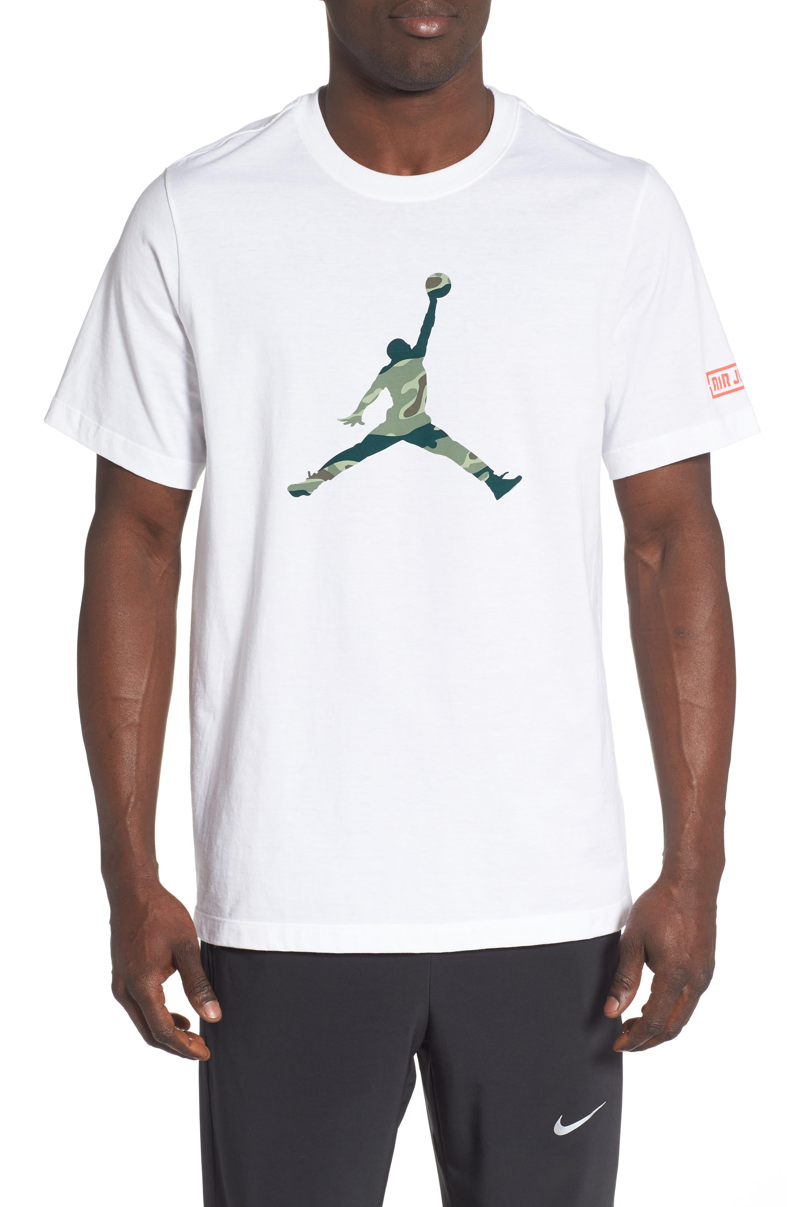 ,                             Camo Jumpman T-Shirt,                             Main thumbnail 8, color,                             100