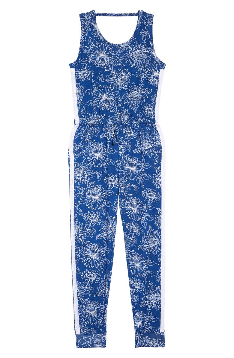 TUCKER + TATE Print Knit Jumpsuit, Main, color, 420