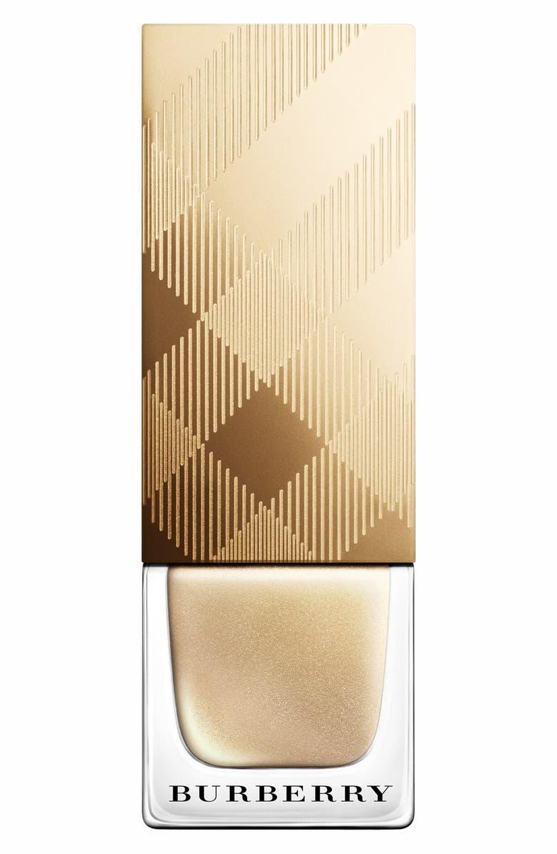 BURBERRY BEAUTY 'Festive Gold - Light Gold' Nail Polish, Main, color, 710