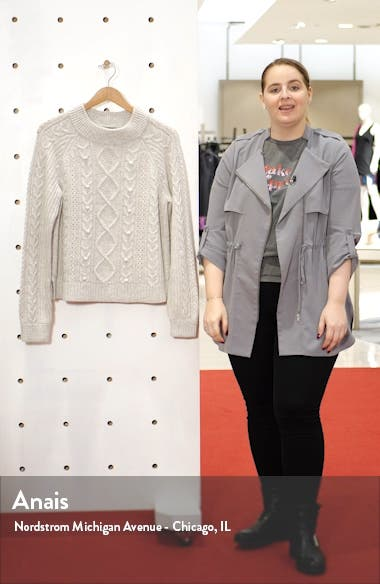 Azra Cable Knit Pullover, sales video thumbnail