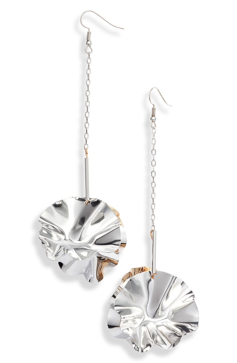 8 OTHER REASONS x Jill Jacobs Drop Earrings, Main, color, 040