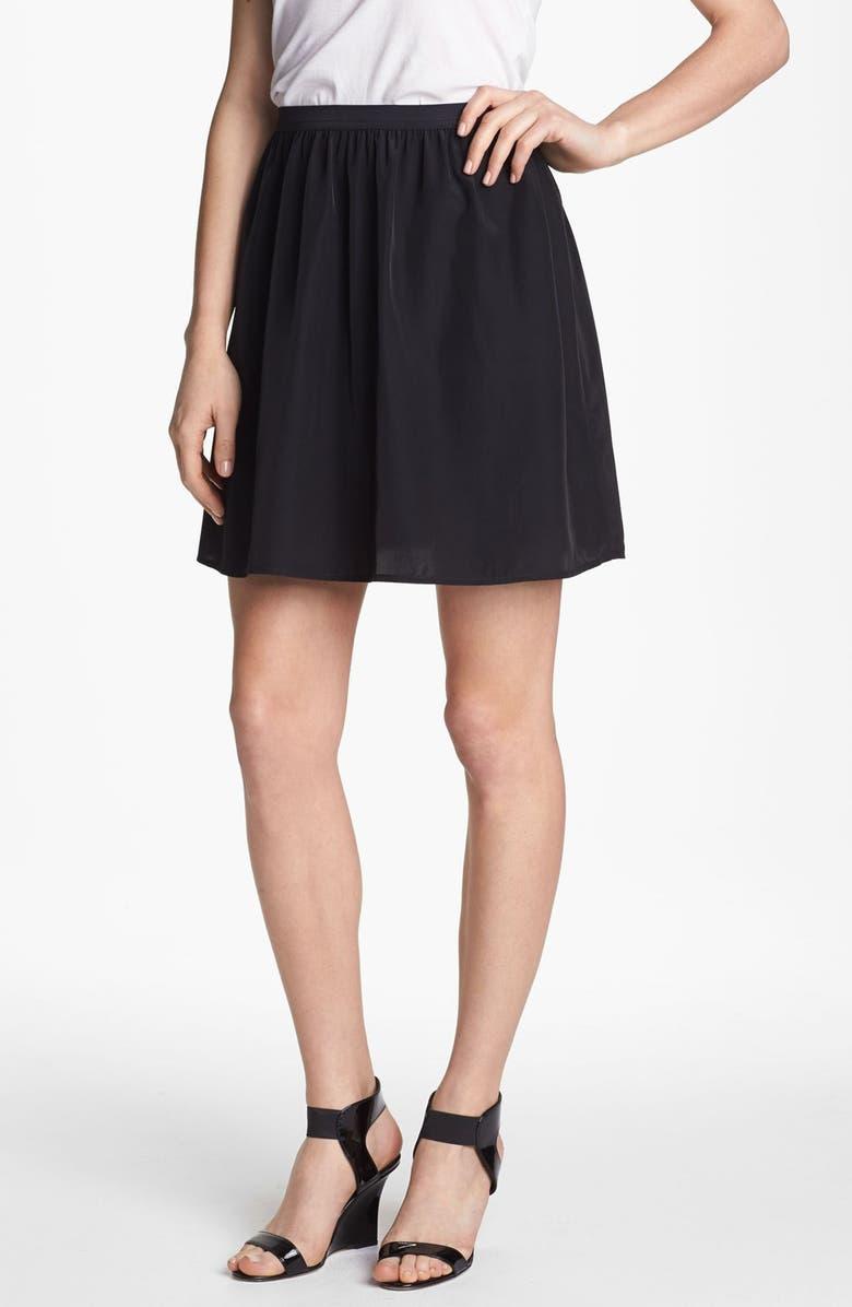 TROUVÉ Flowy Skirt, Main, color, 001