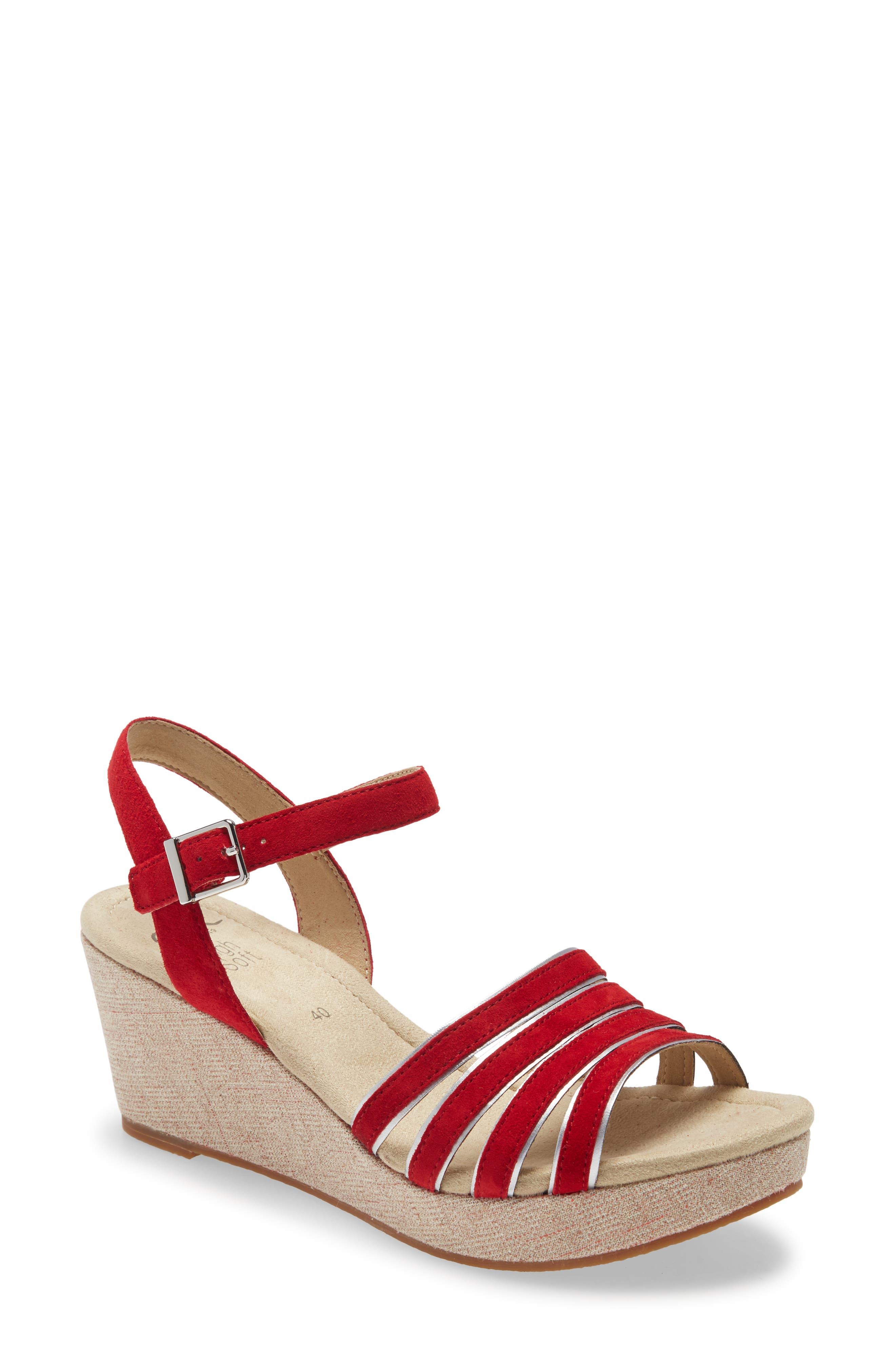 Rita Wedge Sandal
