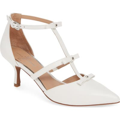 Linea Paolo Calista Strappy Pump- White