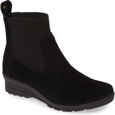 Taryn Rose Emilyn Chelsea Boot, Black