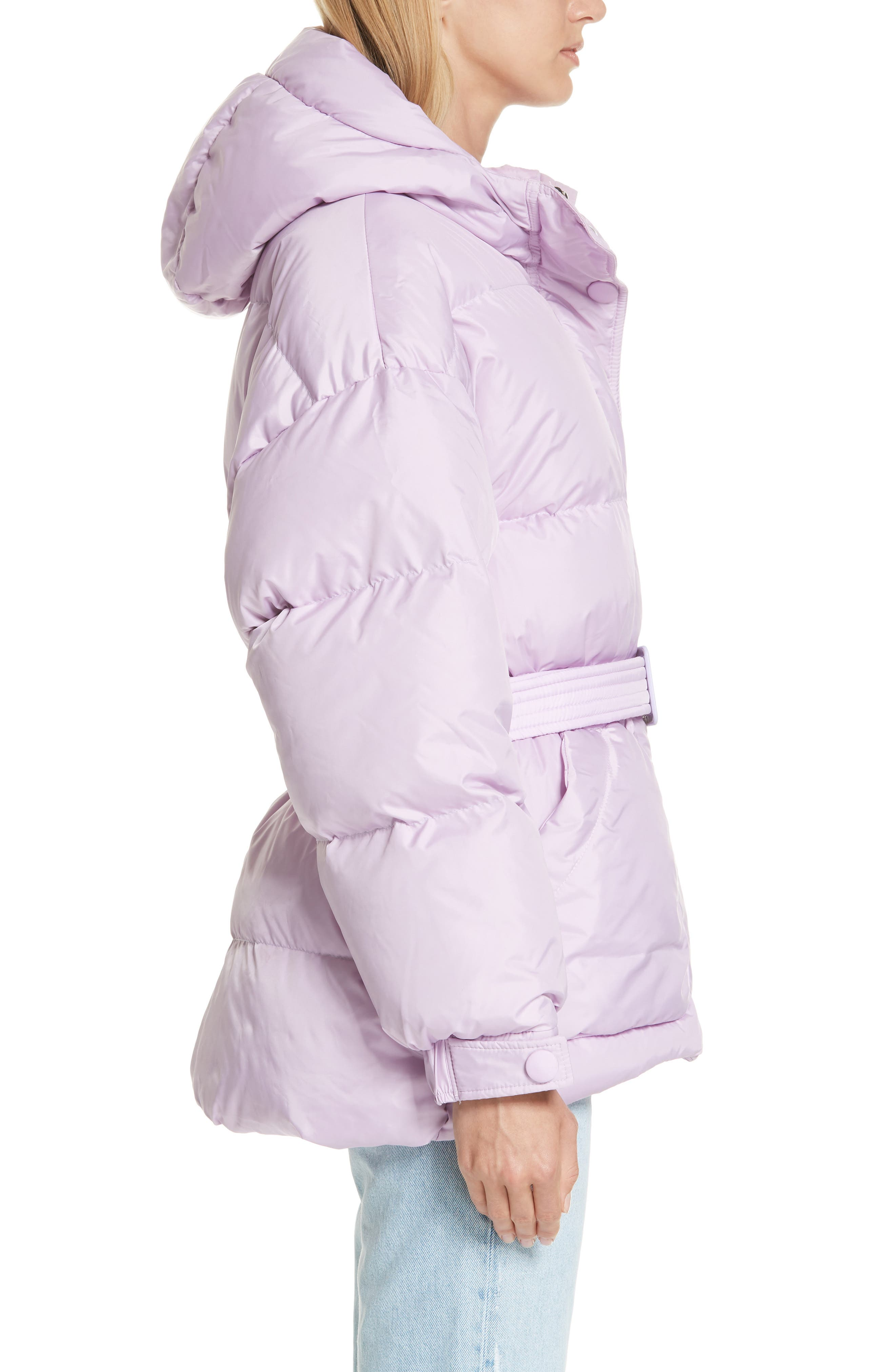 ,                             Michelin Hooded Down Puffer Coat,                             Alternate thumbnail 17, color,                             500