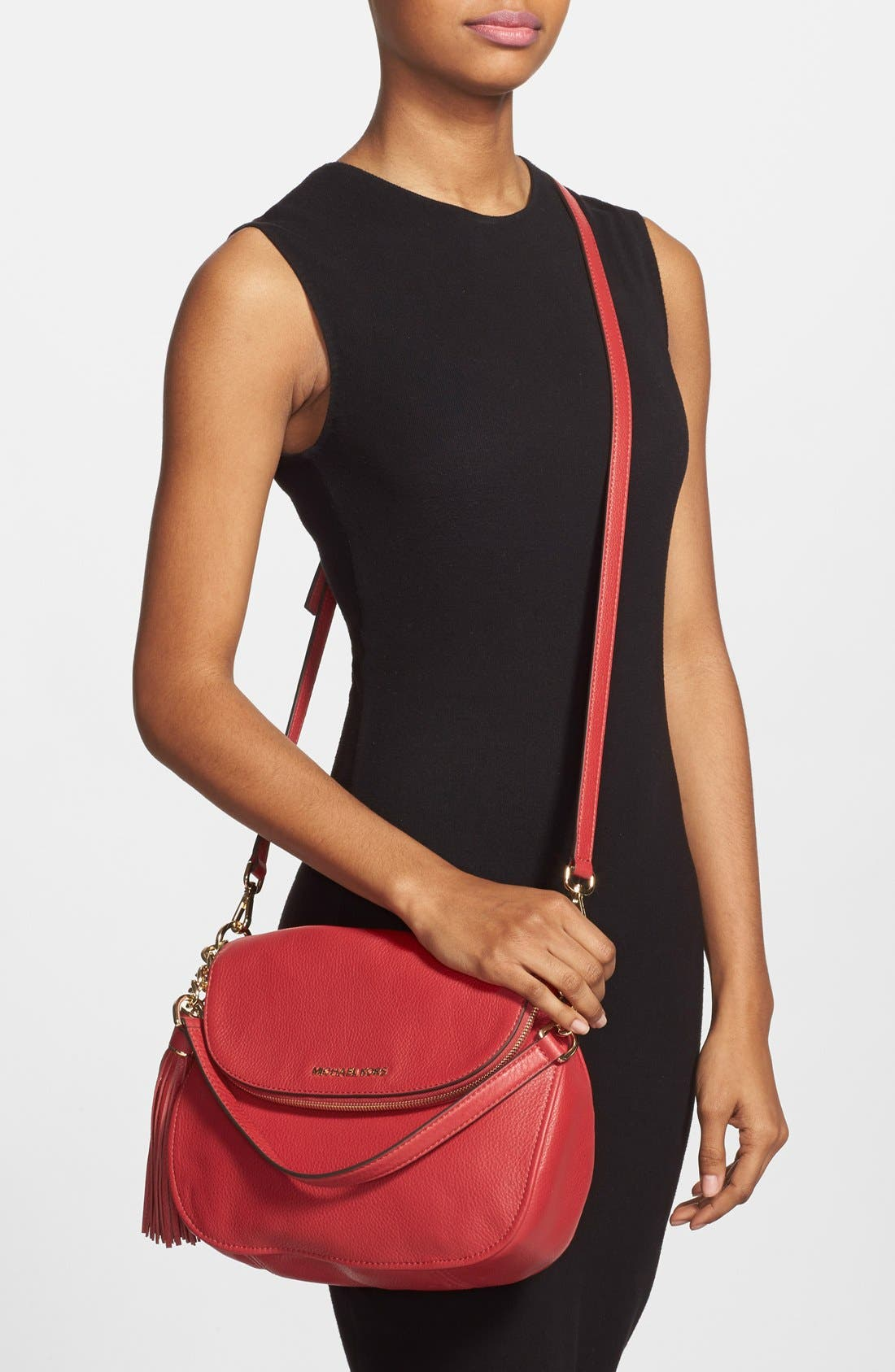 ,                             'Bedford Tassel - Medium' Convertible Leather Shoulder Bag,                             Alternate thumbnail 45, color,                             613