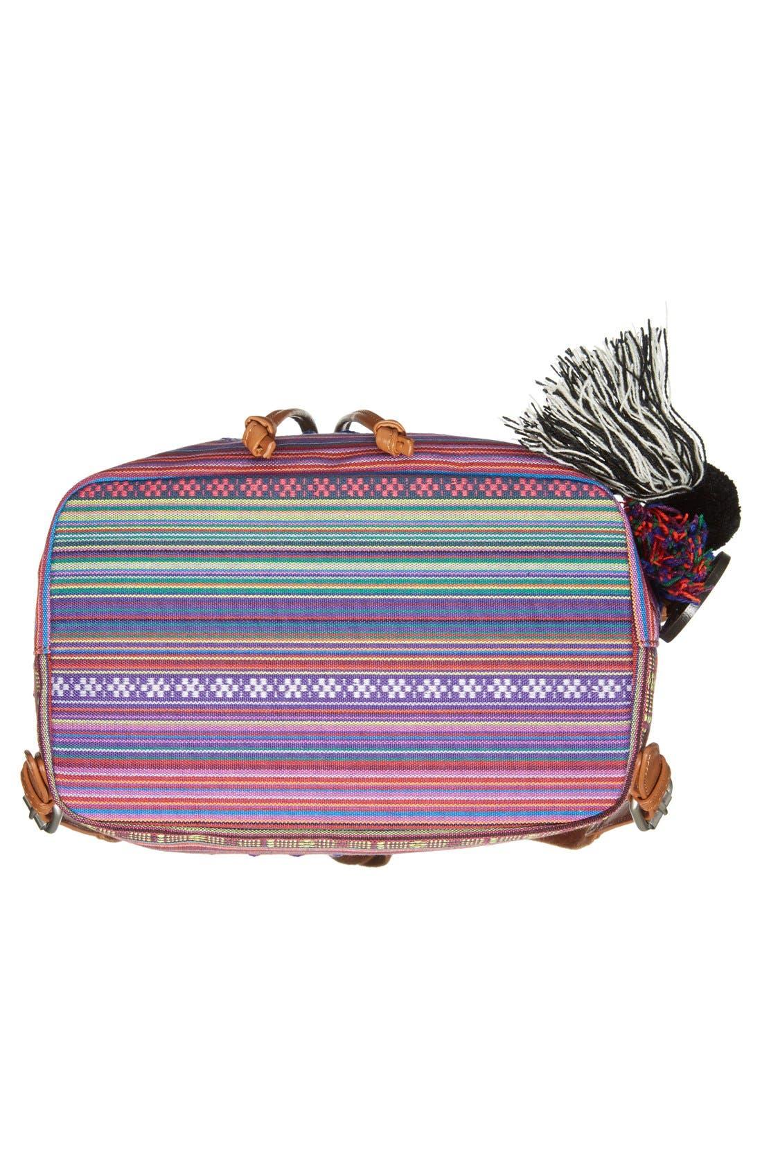 ,                             'Bella' Woven Backpack,                             Alternate thumbnail 9, color,                             650