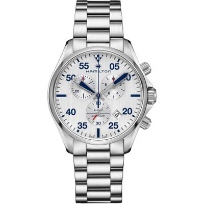 Hamilton Khaki Aviation Chronograph Bracelet Watch, 4m