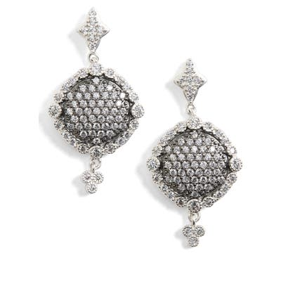 Freida Rothman Disc Drop Earrings