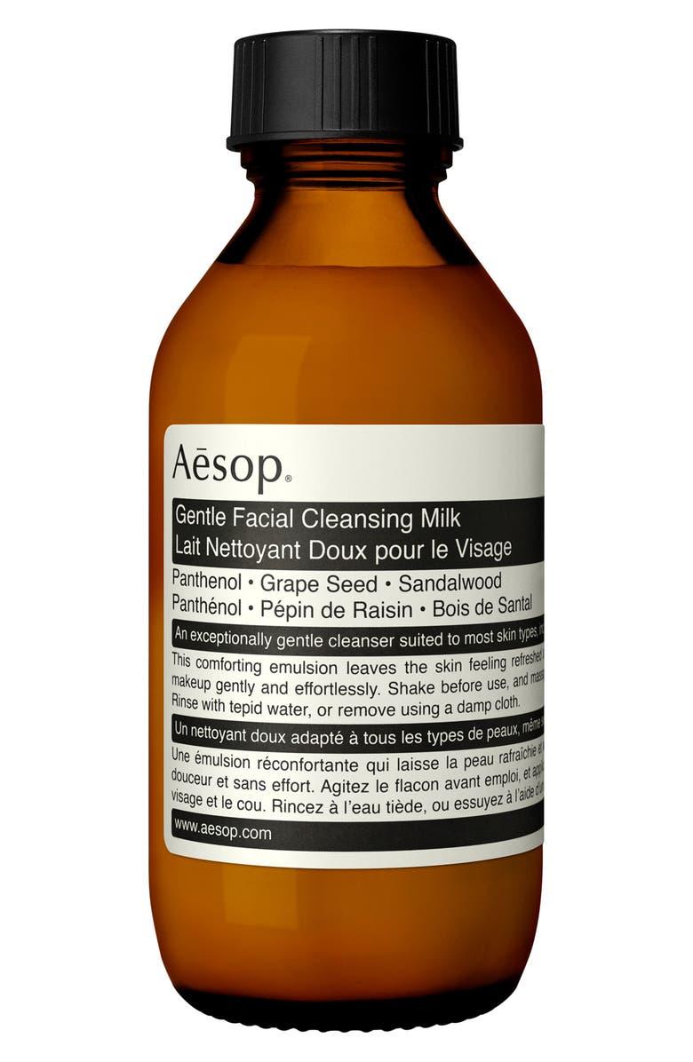 AESOP Gentle Facial Cleansing Milk, Main, color, NO COLOR