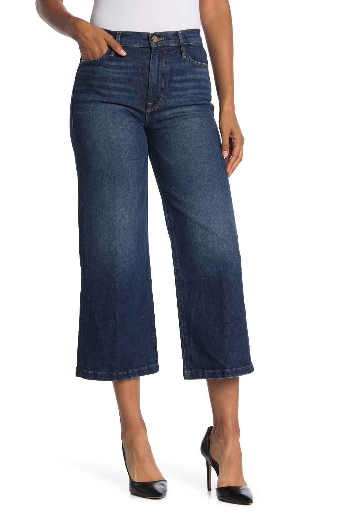 FRAME Ali Wide Cropped Jeans at Nordstrom Rack