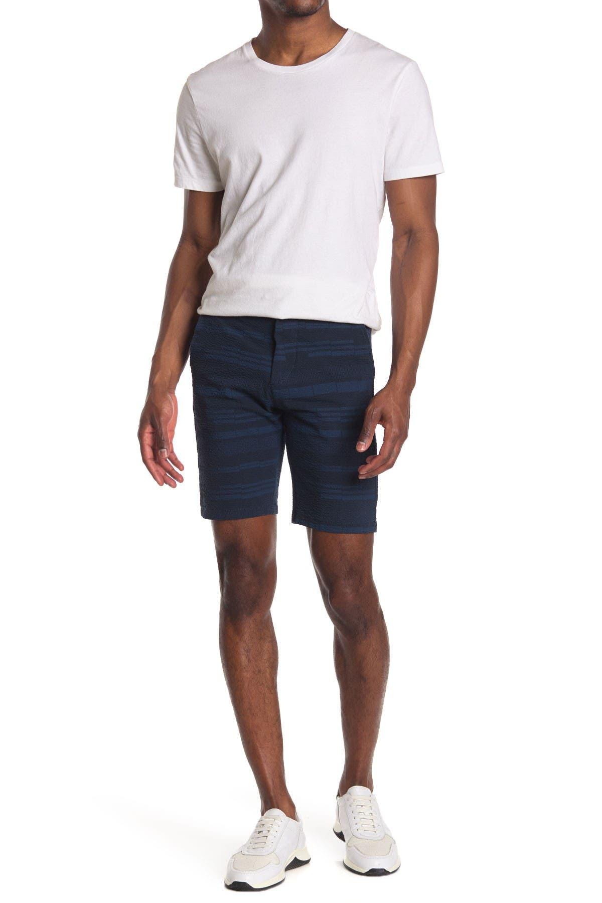 Image of NN07 Crown Stripe Shorts