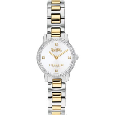 Coach Audrey Pave Bracelet Watch, 22Mm
