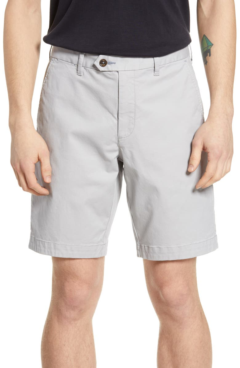 TED BAKER LONDON Selshor Slim Chino Shorts, Main, color, 050