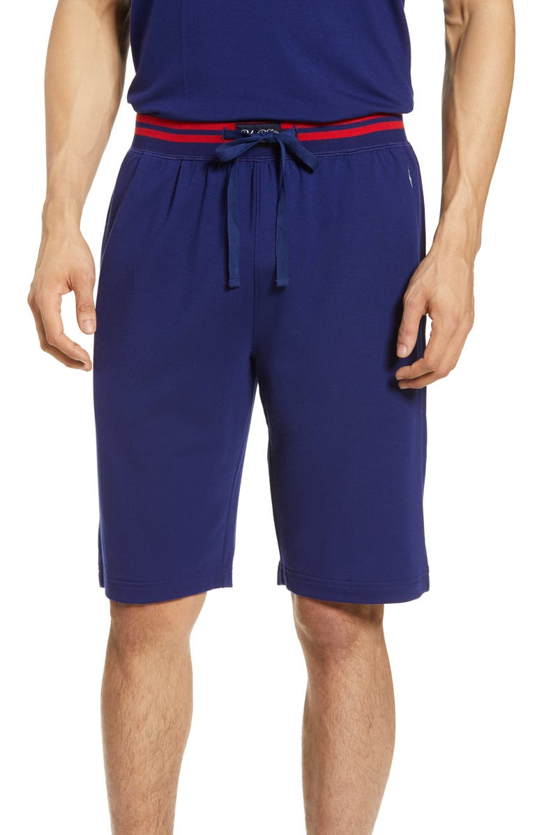 POLO RALPH LAUREN Terry Cloth Lounge Shorts, Main, color, FALL ROYAL