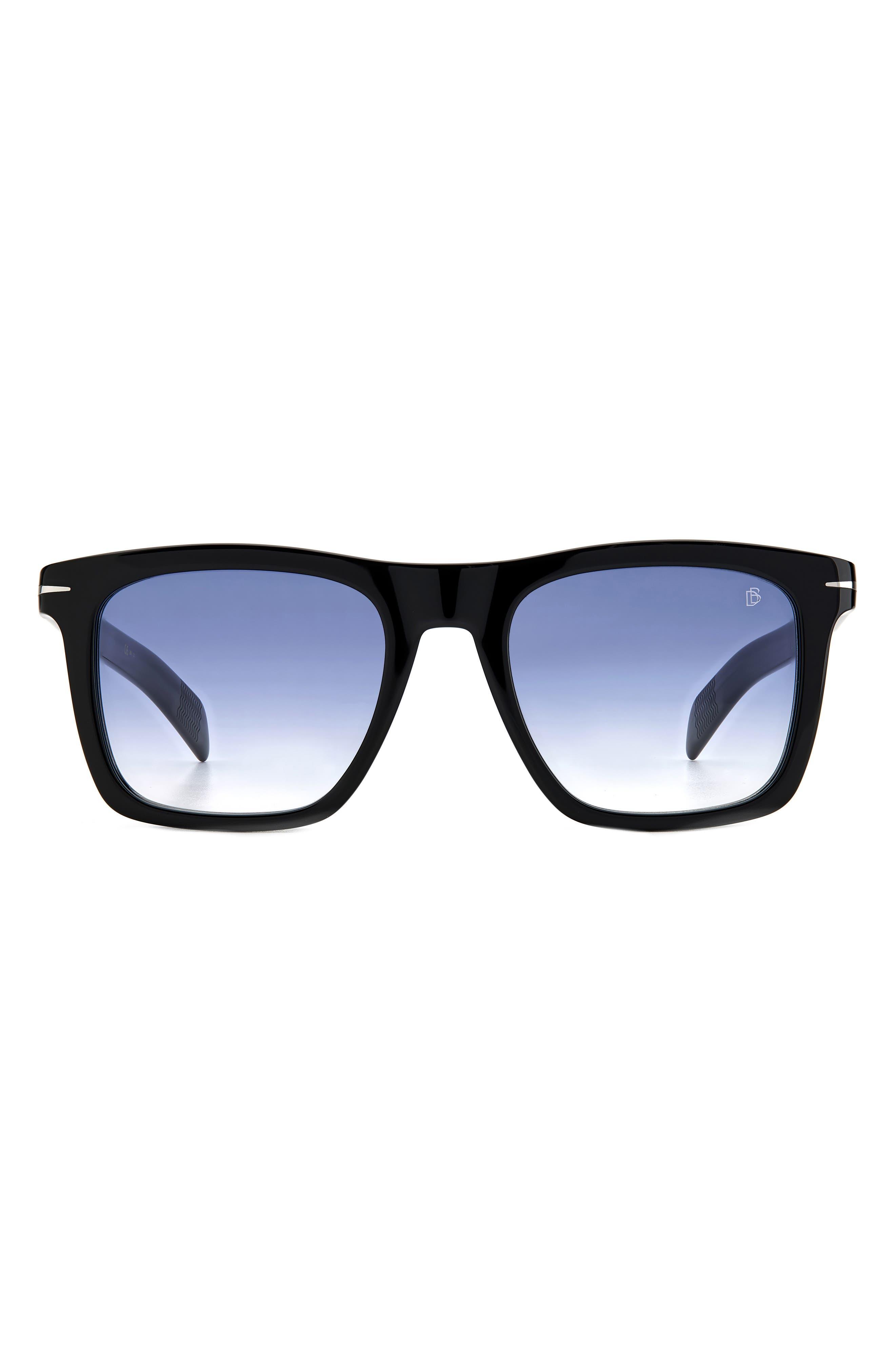 51mm Gradient Rectangular Sunglasses