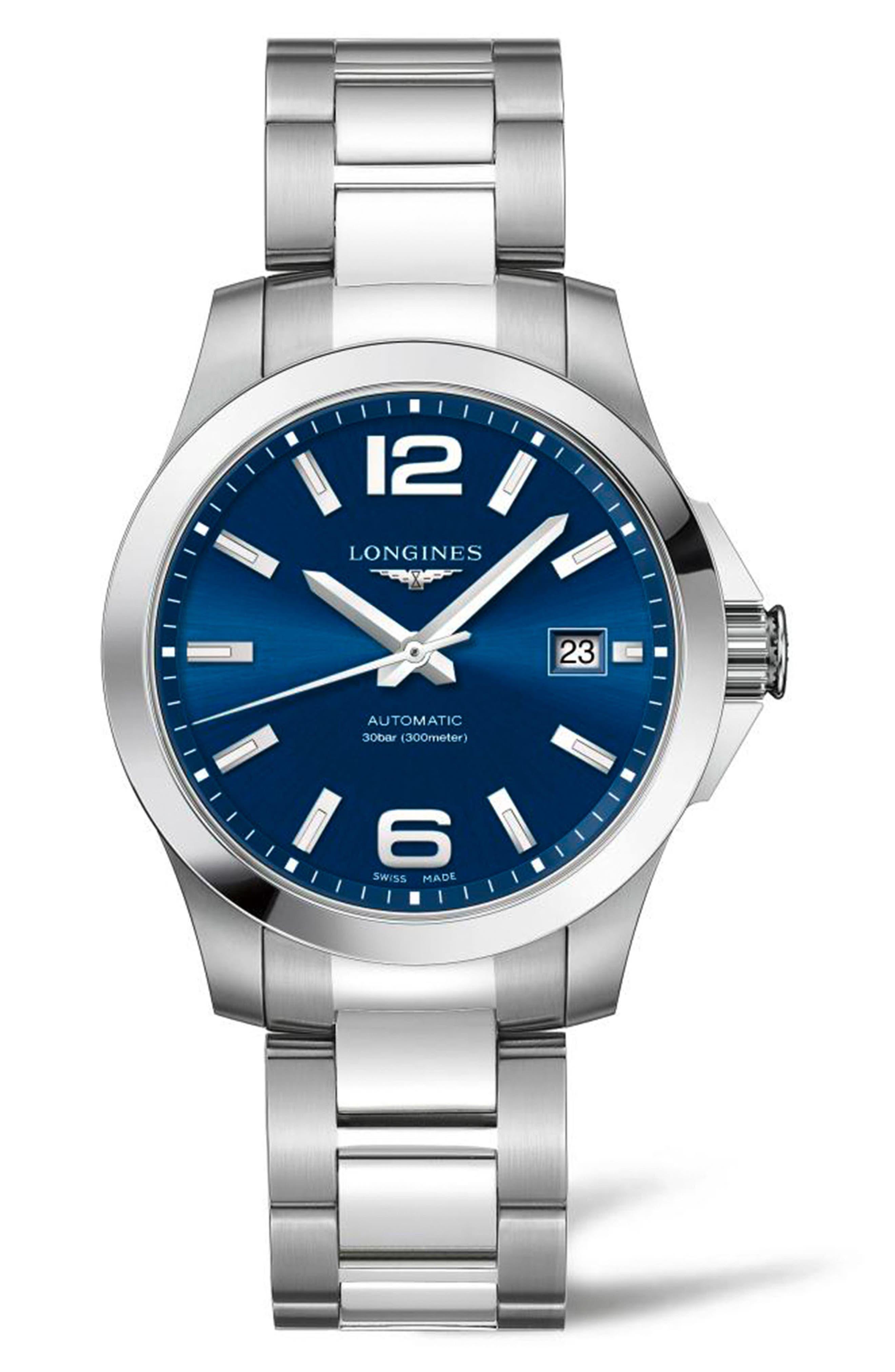 Conquest Automatic Bracelet Watch