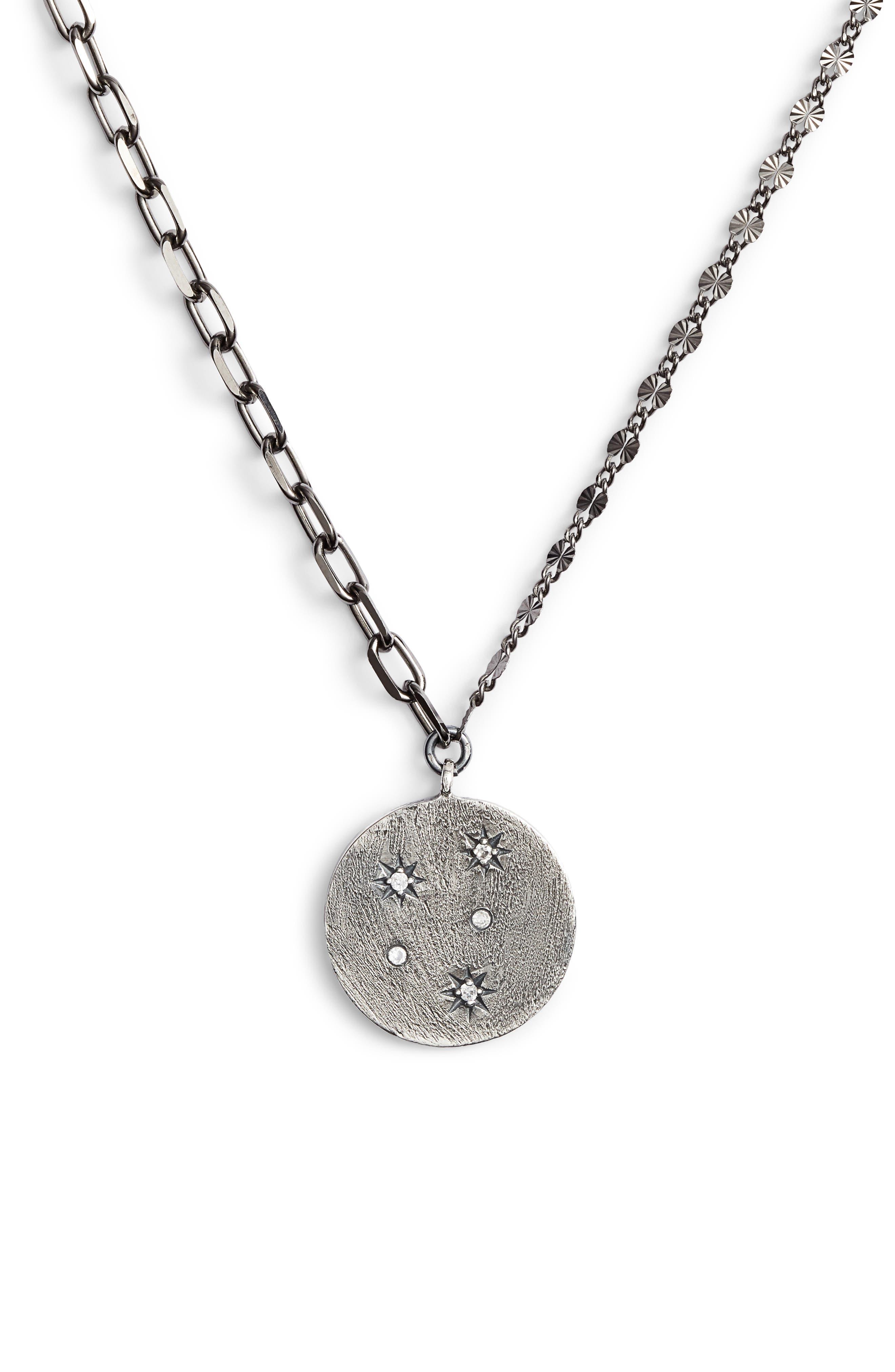 Lara Starburst Pendant Necklace