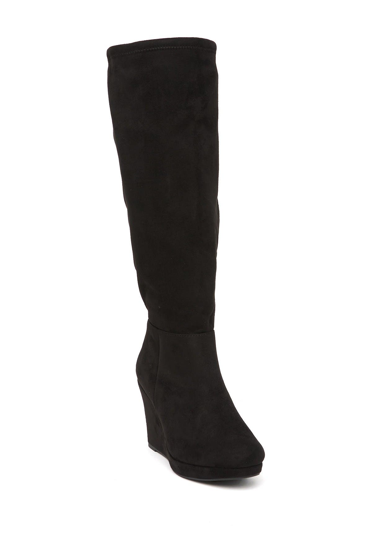Image of Chinese Laundry Lakeside Knee High Wedge Boot