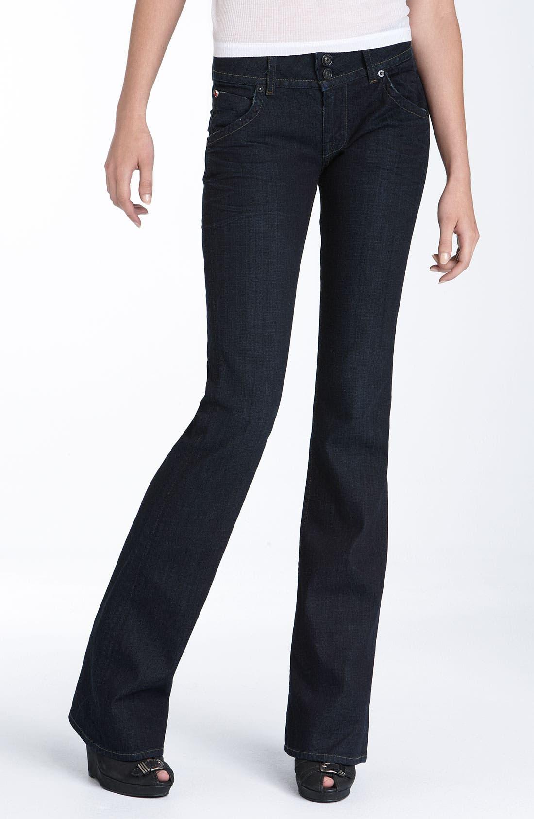 ,                             Signature Flap Pocket Bootcut Jeans,                             Main thumbnail 20, color,                             400