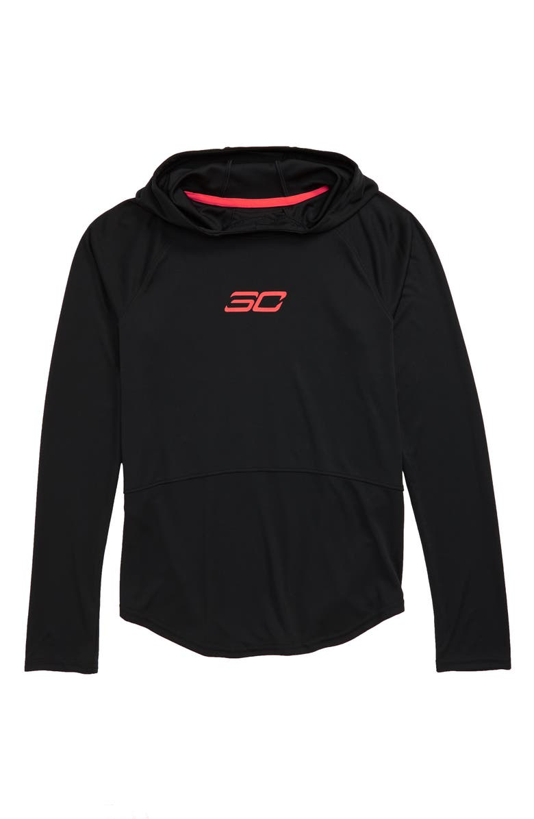 UNDER ARMOUR SC30 Graphic Hoodie, Main, color, 001