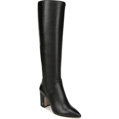 Sam Edelman Hai Knee High Boot- Black