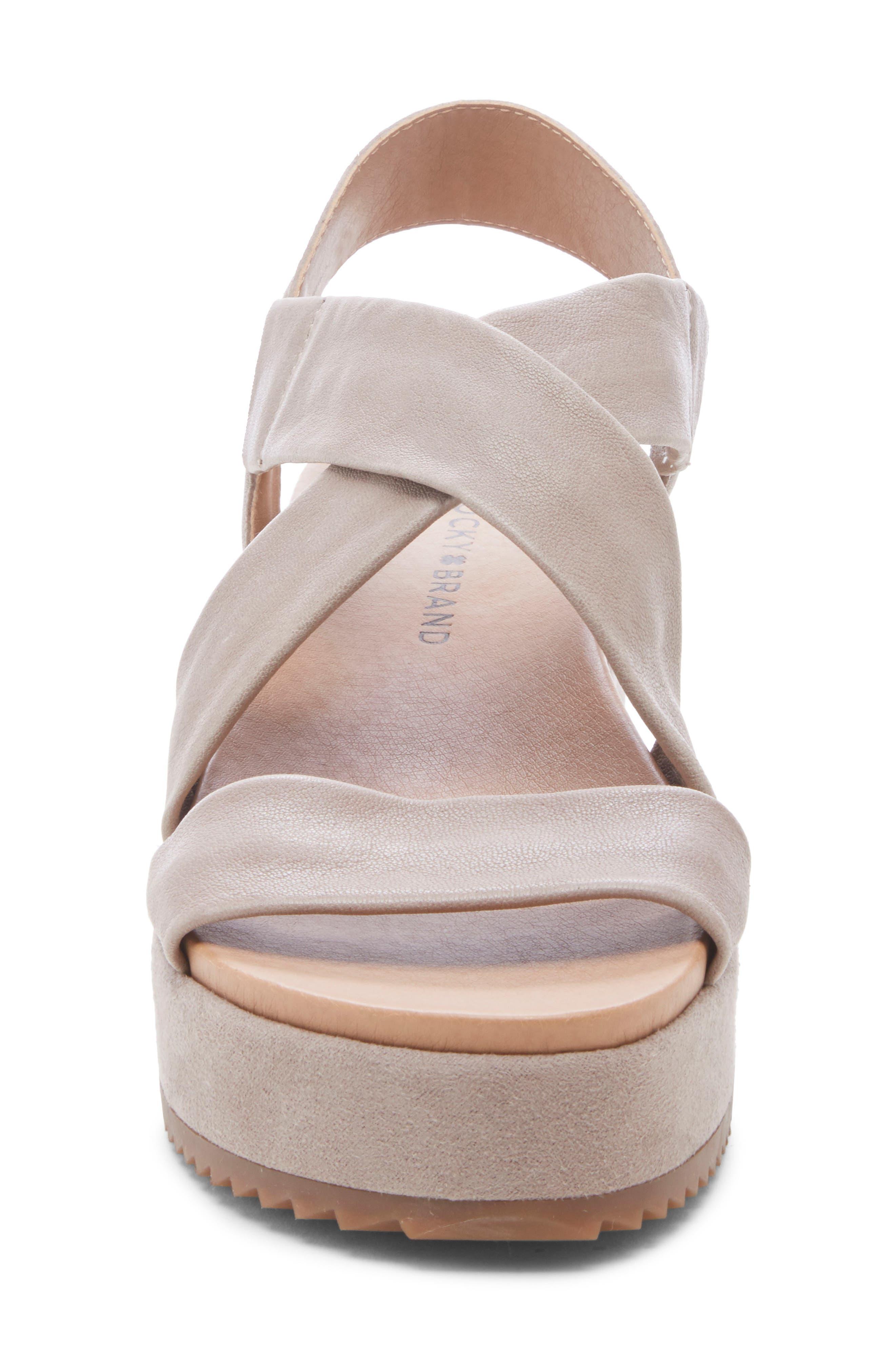 ,                             Waldyna Wedge Platform Sandal,                             Alternate thumbnail 4, color,                             060