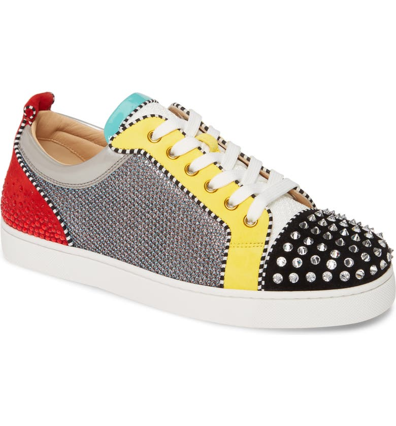 CHRISTIAN LOUBOUTIN Louis Junior Spikes Sneaker, Main, color, VERSION MULTI