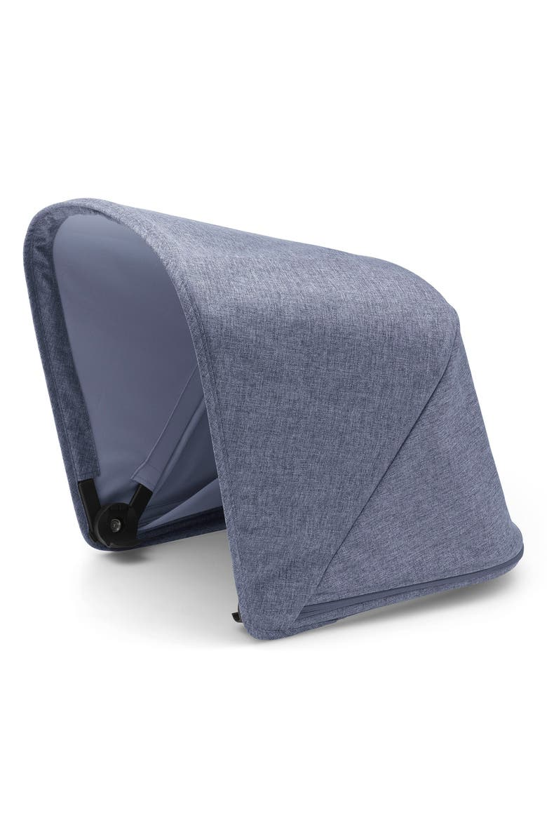 BUGABOO Sun Canopy for Bugaboo Fox Stroller, Main, color, BLUE MELANGE